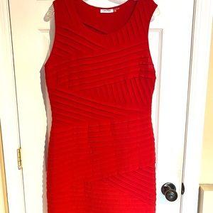 Calvin Klein Red Dress: Never Worn